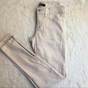 urban outfitters|BDG cream jean leggings